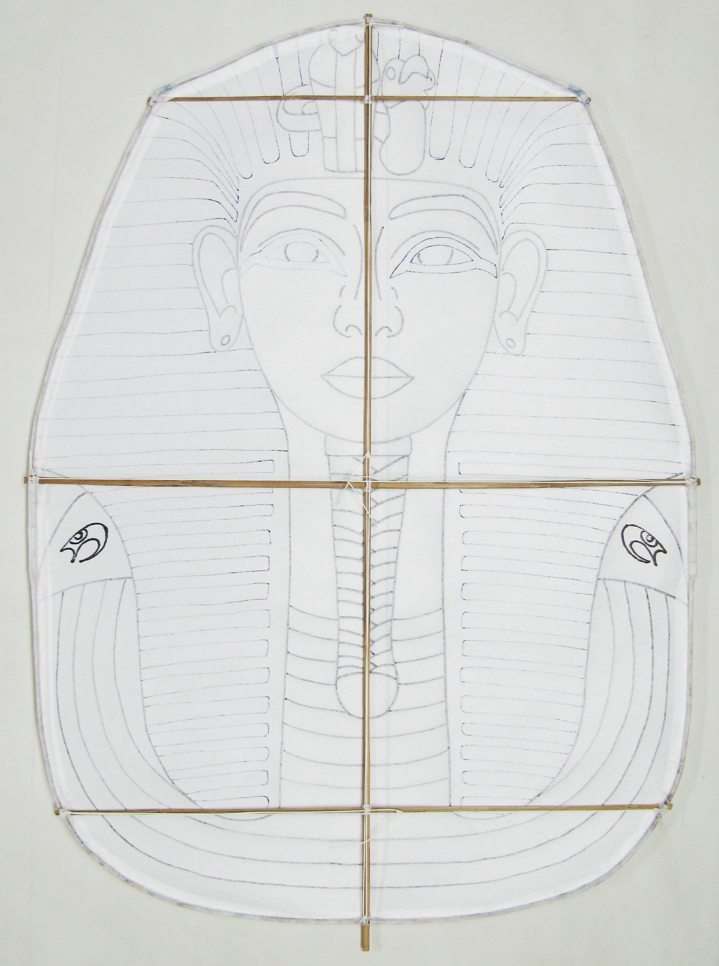 Cometa Tutankamón. Diseñada y construida por Juan Antonio Muñoz López