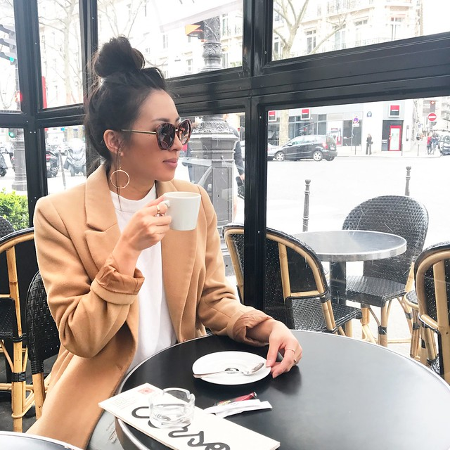 fashion blogger,lovefashionlivelife,joann doan,style blogger,stylist,what i wore,my style,fashion diaries,outfit,paris,europe,eiffel tower,paris street style,ysl,saint laurent,parisian,french,france,lourve,coffee,beret,street style,oc fashion blogger