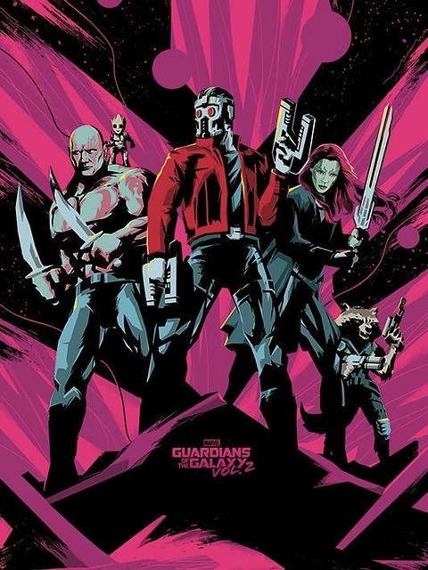 Guardians of the Galaxy Vol 2 (2017) poster 05