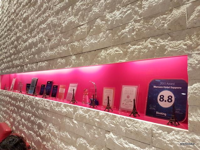 Hotel Mercure Sapporo awards