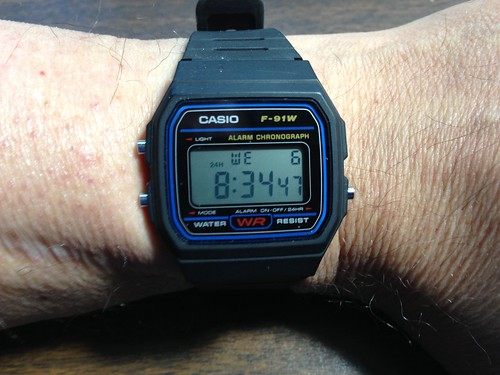 Casio F-91W Quartz Digital Watch