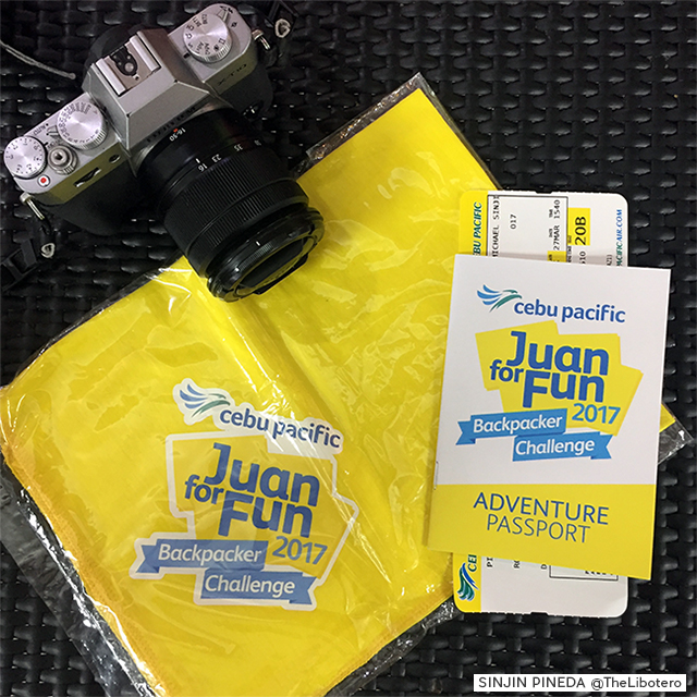 Cebu Pacific Juan For Fun Backpacker Challenge 2017