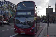 Volvo B9TL Wright Eclipse Gemini 2 - BG59 FXB - WVN25 - Go Ahead London London Central - King's Cross London - 140926 - Steven Gray - IMG_0388