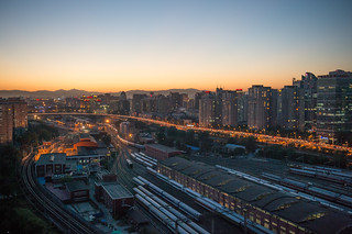 Beijing at Dusk | by pamhule