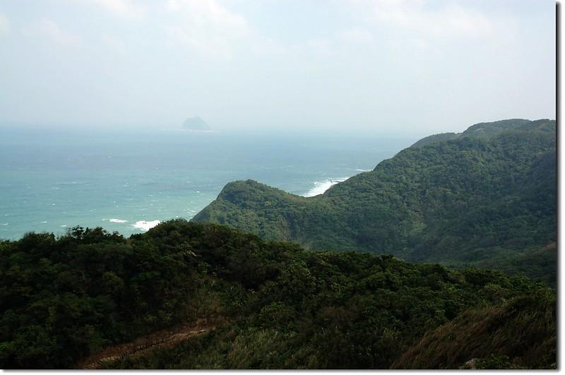 情人湖觀景點眺望基隆嶼