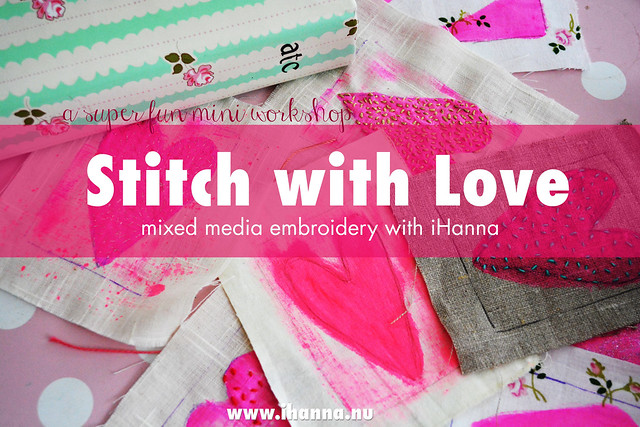 Stitch with Love Embroidery Workshop with iHanna - buy it today
