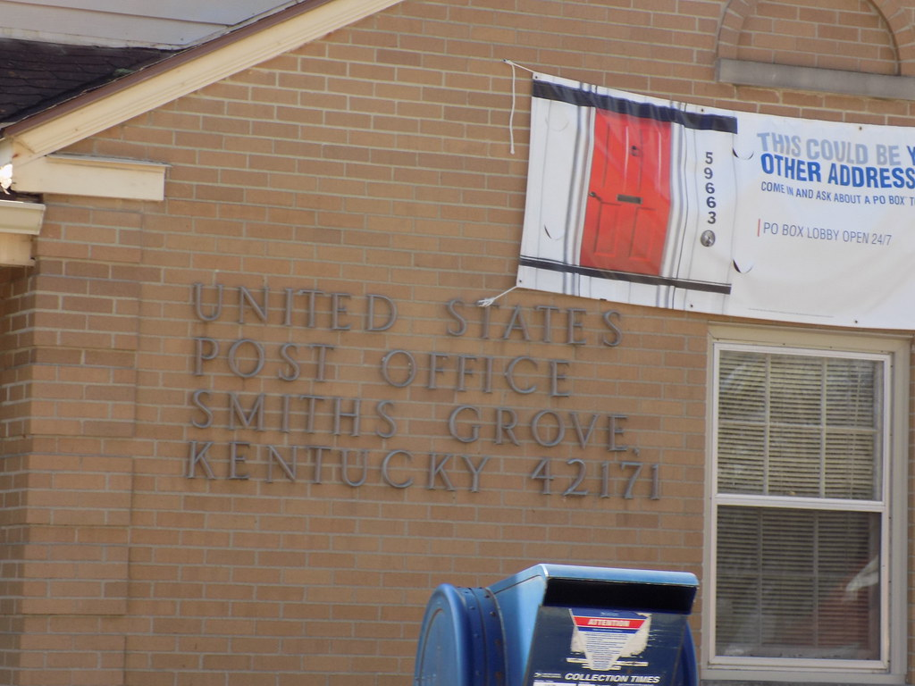 US Post Office -- Smith's Grove, KY