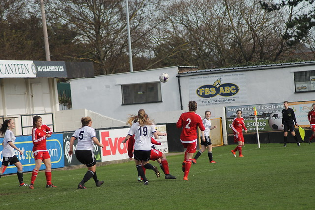 Rhyl Ladies v Llandudno Ladies