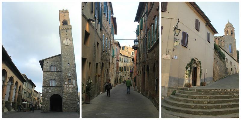 Streets of Montalcino