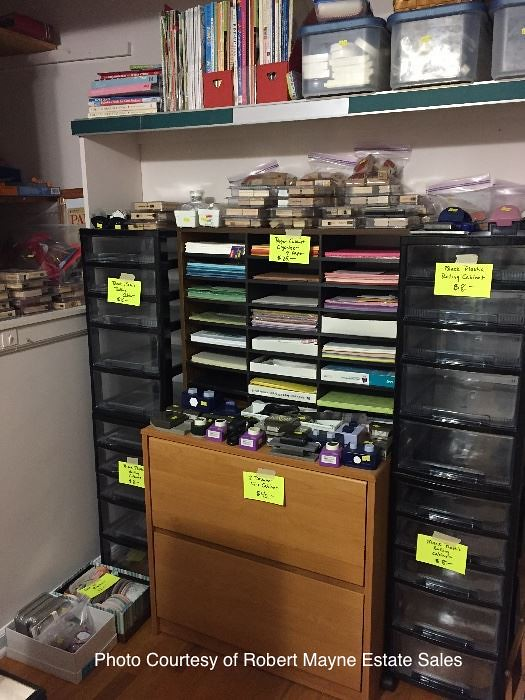 Estate Sale Stamp room