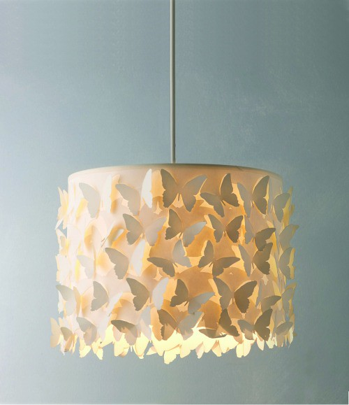 Ceiling lamp of acrylic and paper