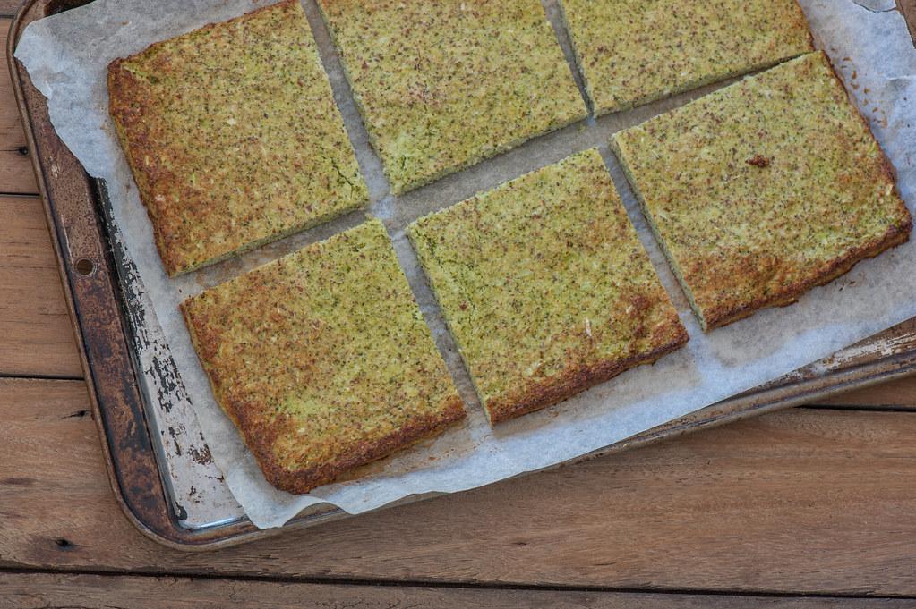 Broccoli Sandwich Bread more exposed