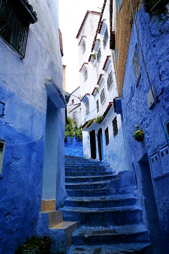 Lombardo, Patrick; Paris, France; Oh...vacation; Chefchaouen (Morocco)