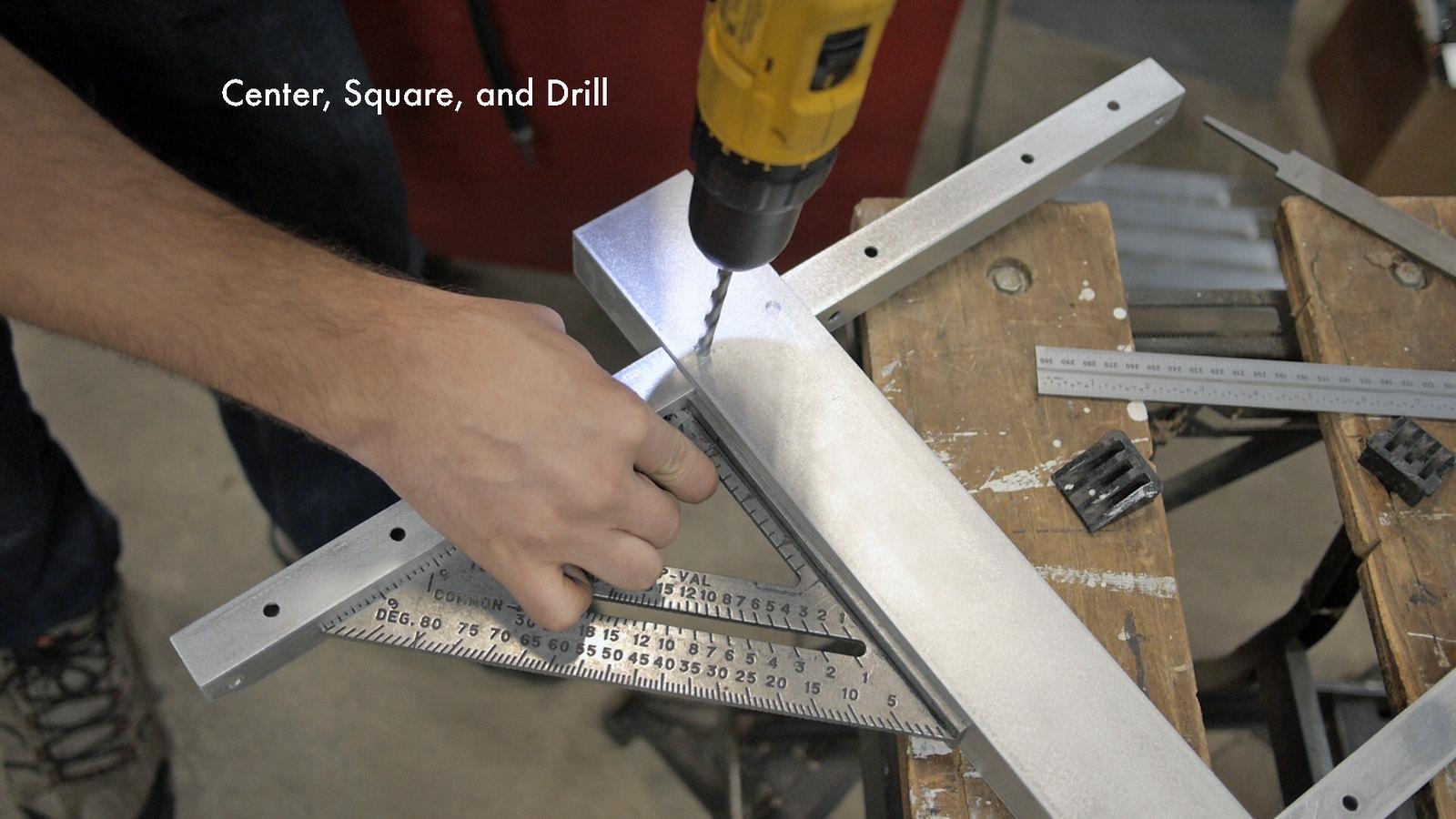 Drill Box Tubes Through Center Box