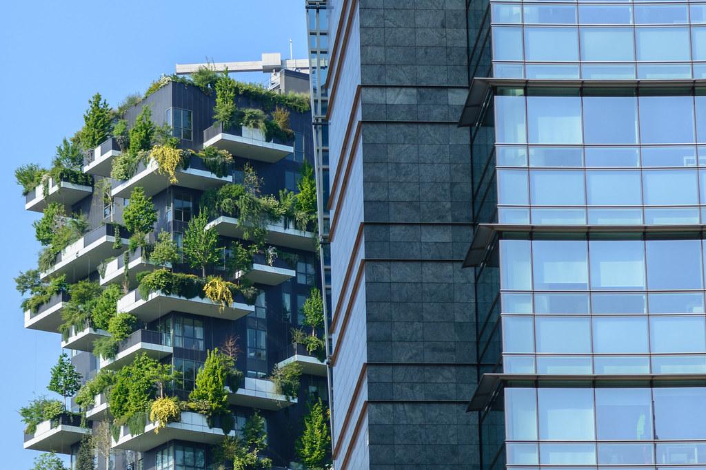 Bosco verticale e giardini d inverno palazzi green di milano