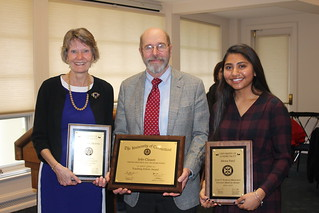 Teaching awards recipients