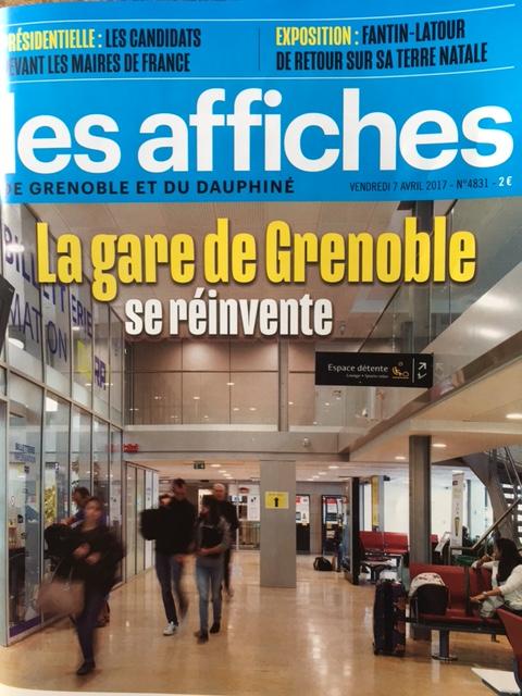 Les Affiches de Grenoble et du Dauphiné 09 04 17