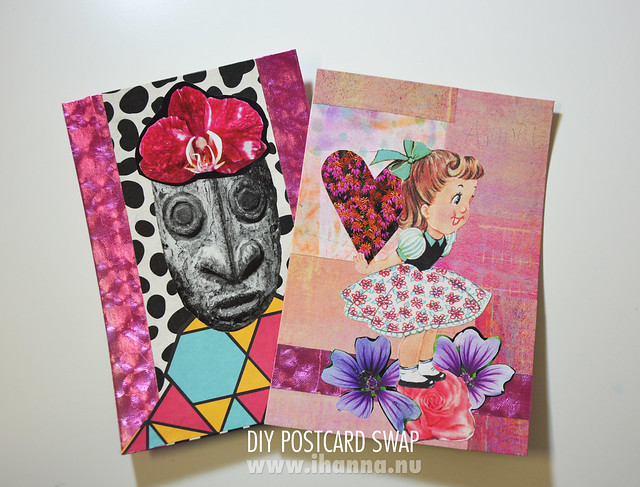 Happy Mail: DIY Postcards made with LOVE and humor