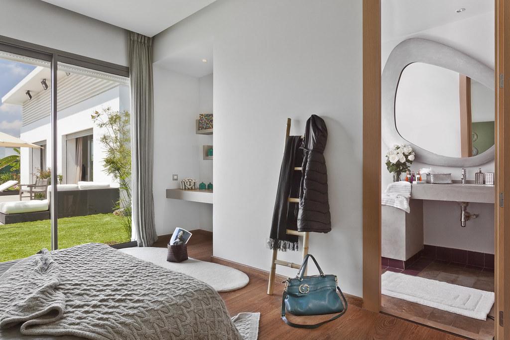 chambre coucher avec salle de bain casadiaa by villas de plain pied