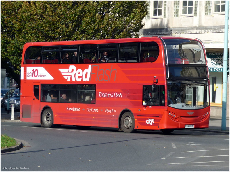 Plymouth Citybus 519 WG63HHX