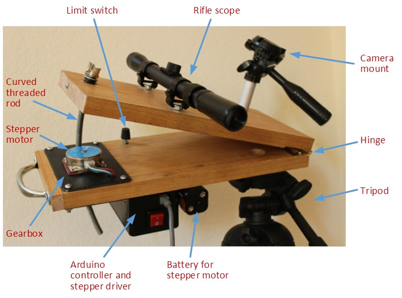 Barn Door Tracker For Dslr Astrophotography My Home Made B Flickr