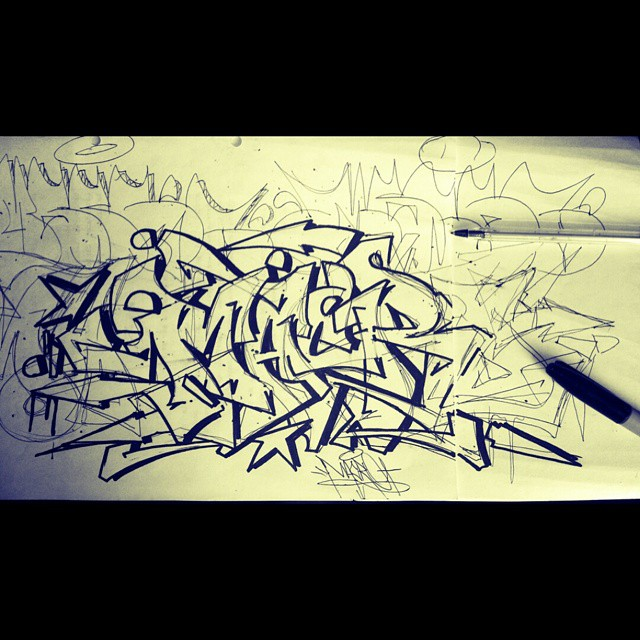 macro pxp crew lápiz pasta base graffitichileno graffi flickr