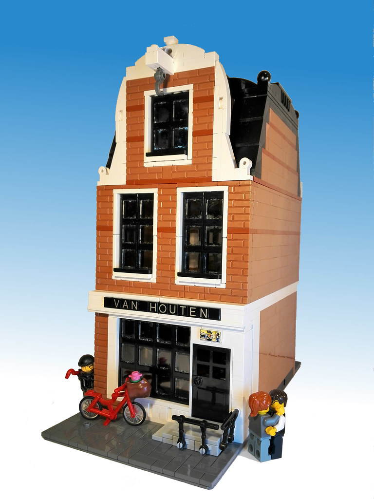 Lego Modular Amsterdam Style Canal House This Canal House Flickr