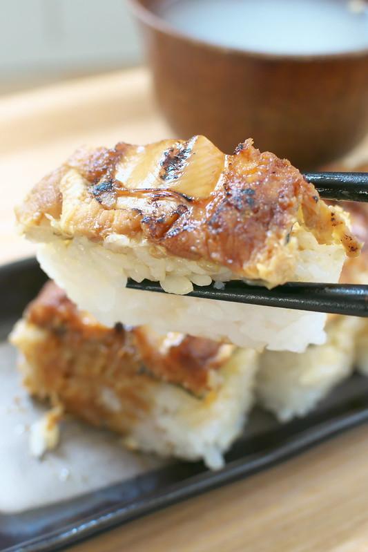 まちや 卵月のあなご寿司
