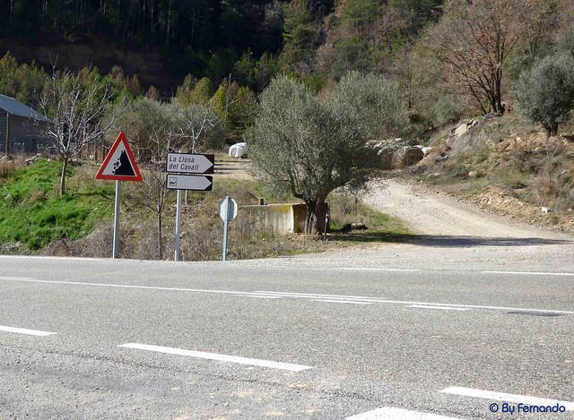 La Vall de Lord -12- Sector Llosa de Cavall -01- Punto de acceso 01