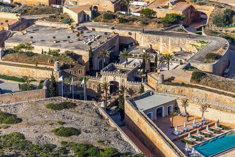 Cap Enderrocat Fortress, Mallorca, SPAIN
