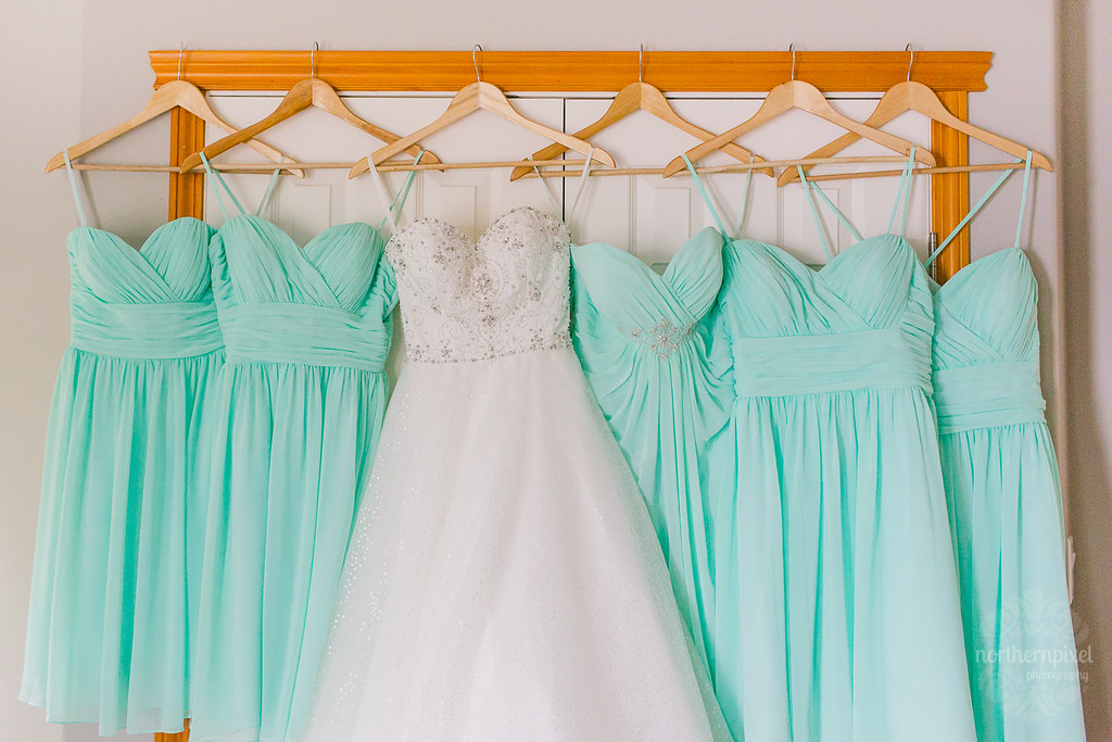 Bridal Gown and Bridesmaid Dresses