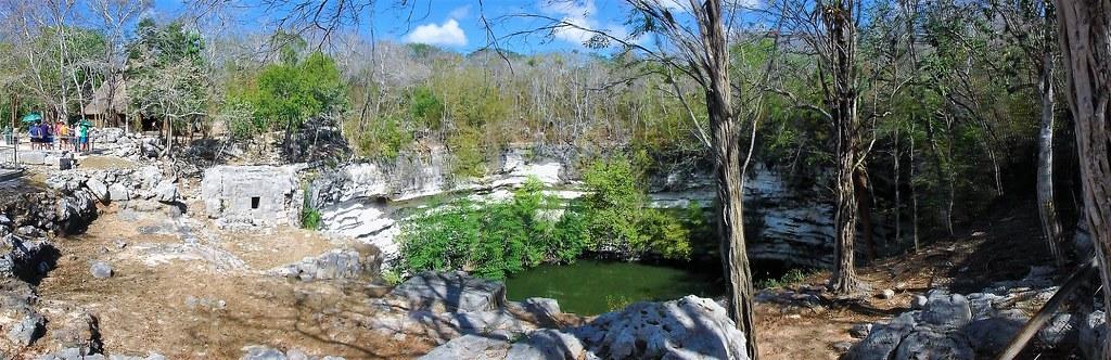 P3110194 Pano Chichen Itza Yucatan México Patrimonio de la Humanidad UNESCO