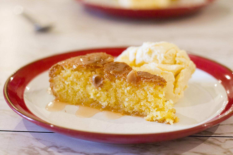 Lemon Polenta Cake - Rudy's Pizza Manchester