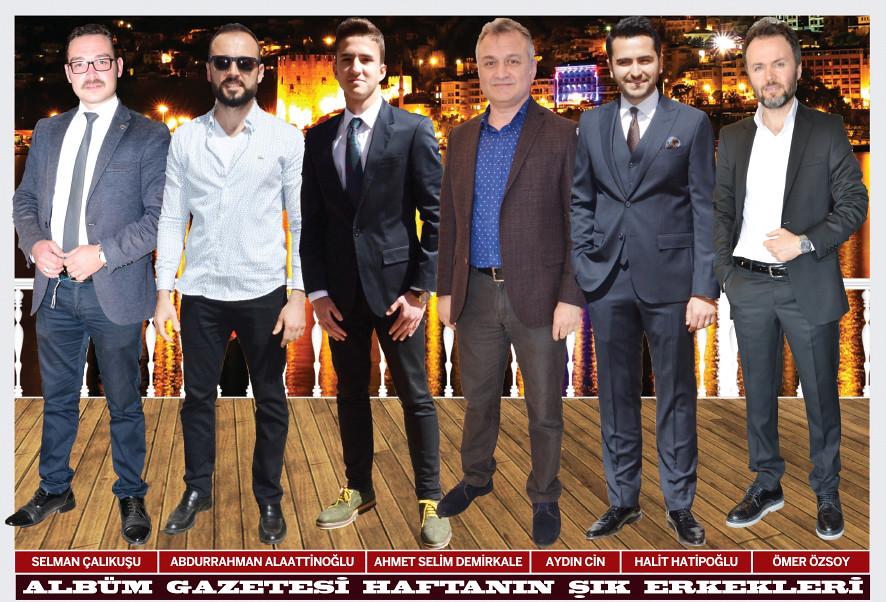 Selman Çalıkuşu, Abdurrahman Alaattinoğlu, Ahmet Selim Demirkale, Aydın Cin, Halit Hatipoğlu, Ömer Özsoy