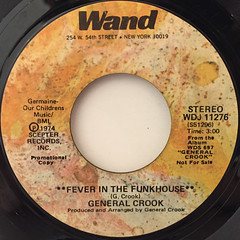 GENERAL CROOK:FEVER IN THE FUNKHOUSE(LABEL SIDE-A)