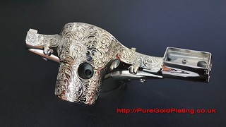 Scooter Headset in Nickel | by PureGoldPlating
