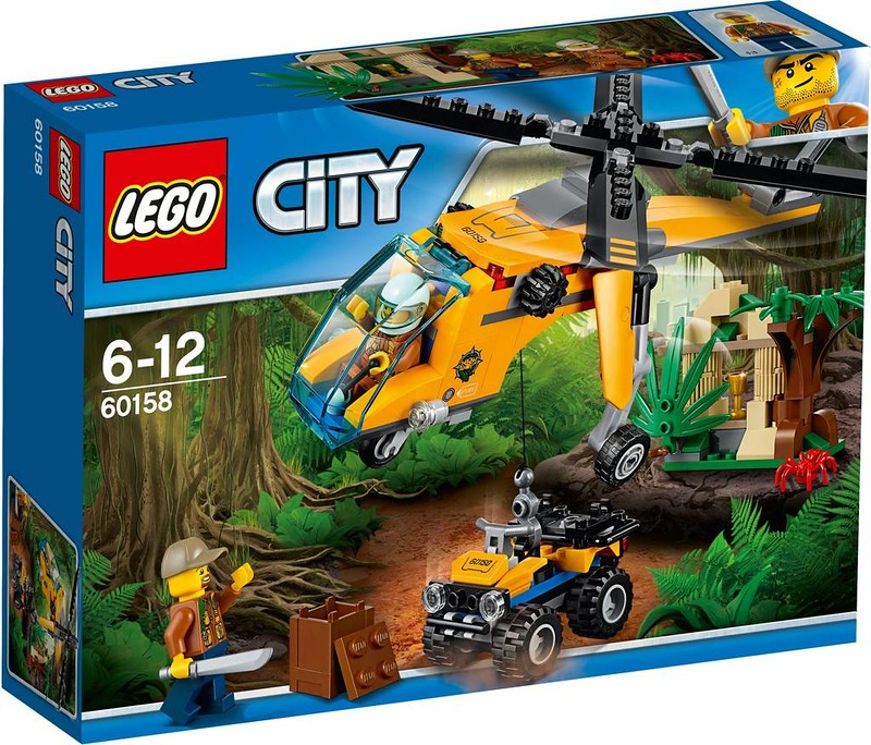 LEGO City Jungle Cargo Helicopter (60158)
