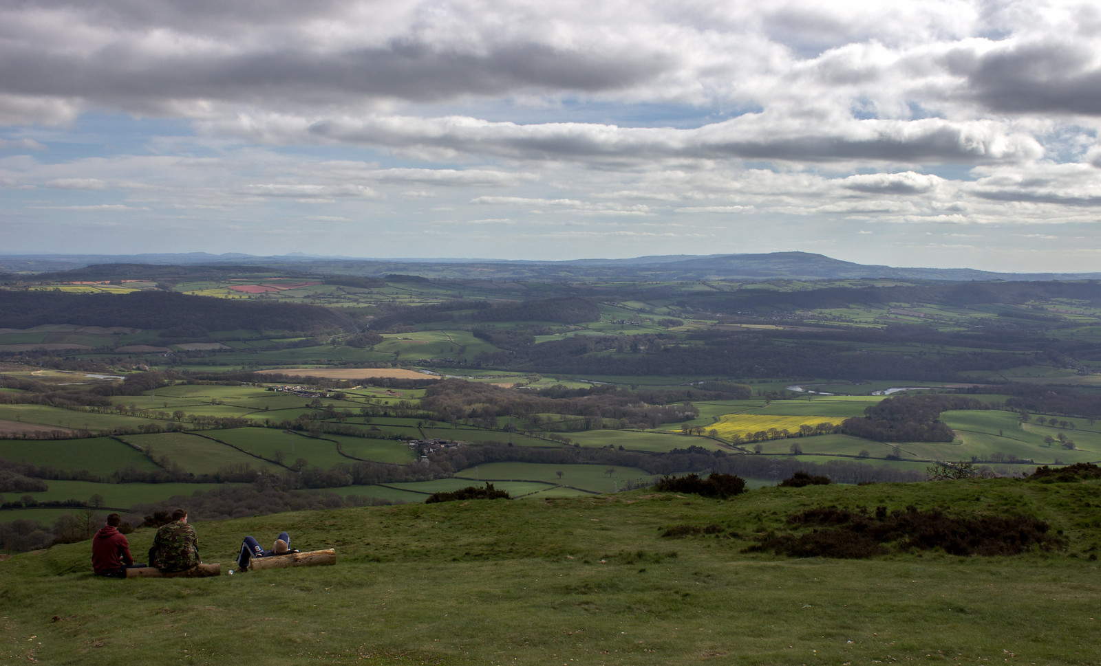 The view from the Wrekin
