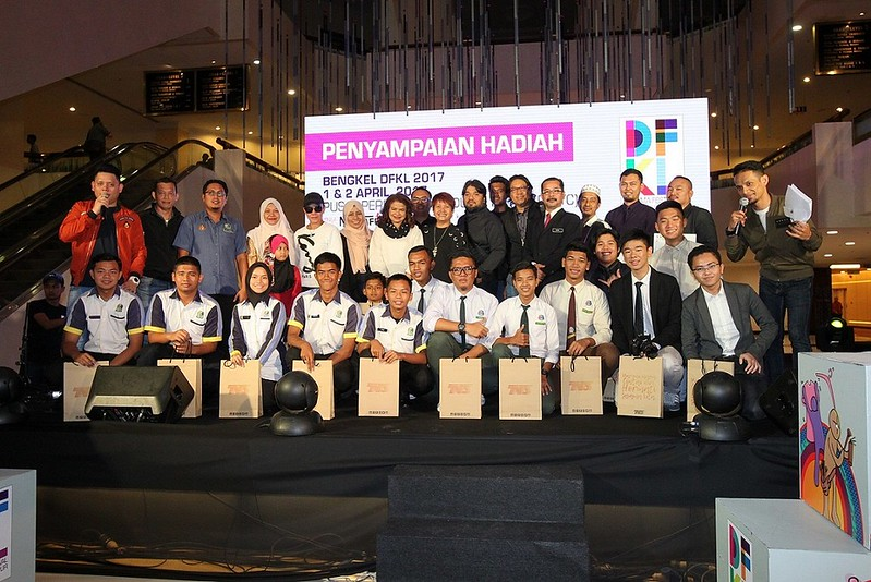Pemenang - pemenang Pertandingan Drama Pendek DFKL 2017