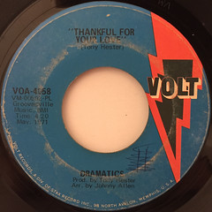 DRAMATICS:WHATCHA SEE IS WHATCHA GET(LABEL SIDE-B)