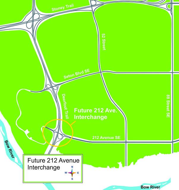 212 Avenue Interchange Map -1