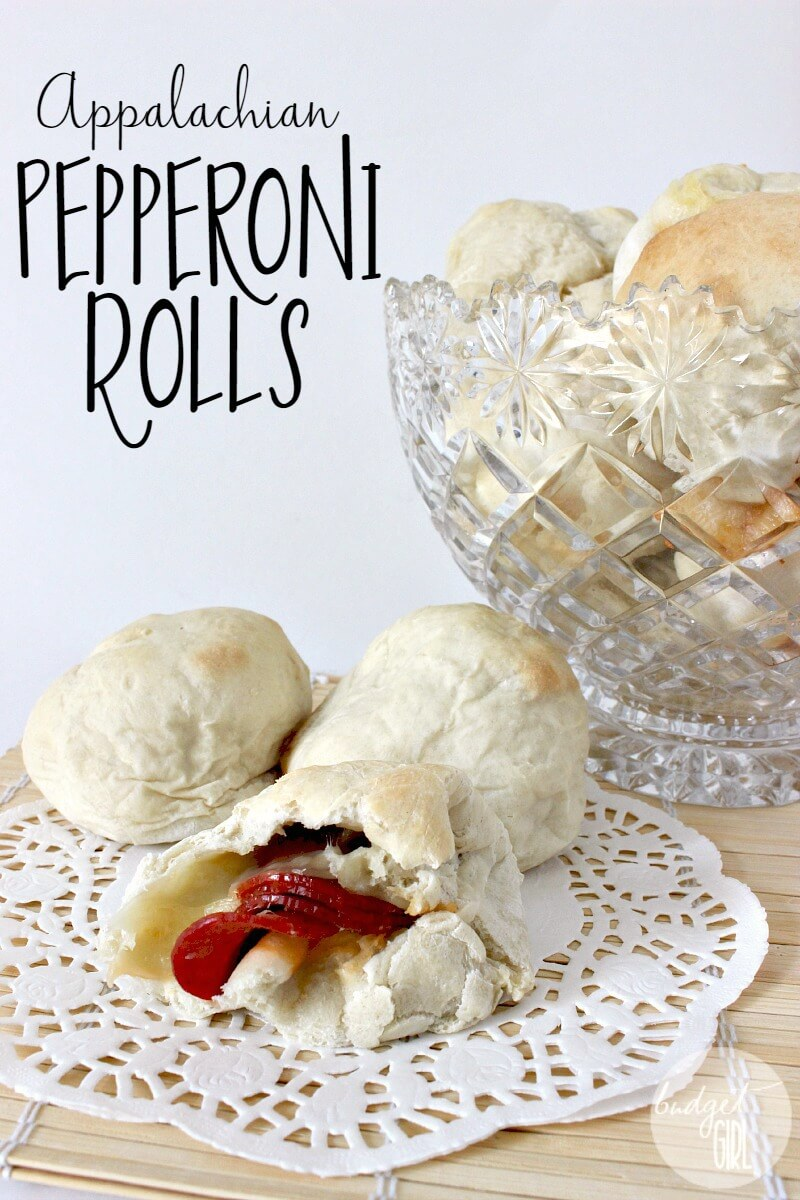 Appalachian Pepperoni Rolls