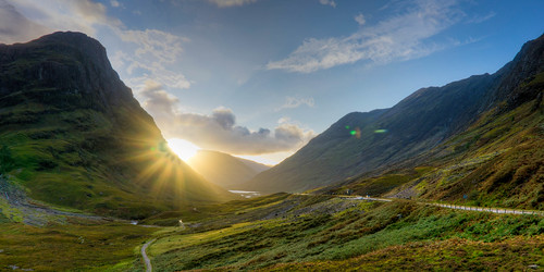 New camera and I'm loving the results. Mind you, Glencoe at sunset looks braw whatever the lens. | by OsamaSaeedScot