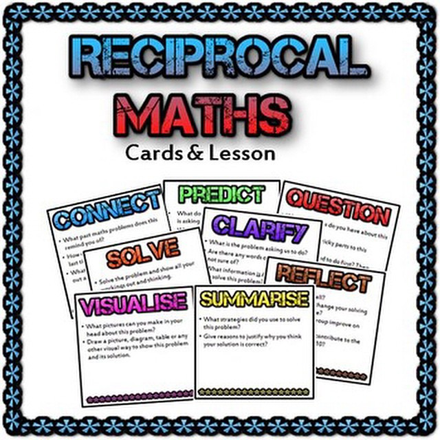 Reciprocal Maths Based On The Reciprocal Reading System Flickr