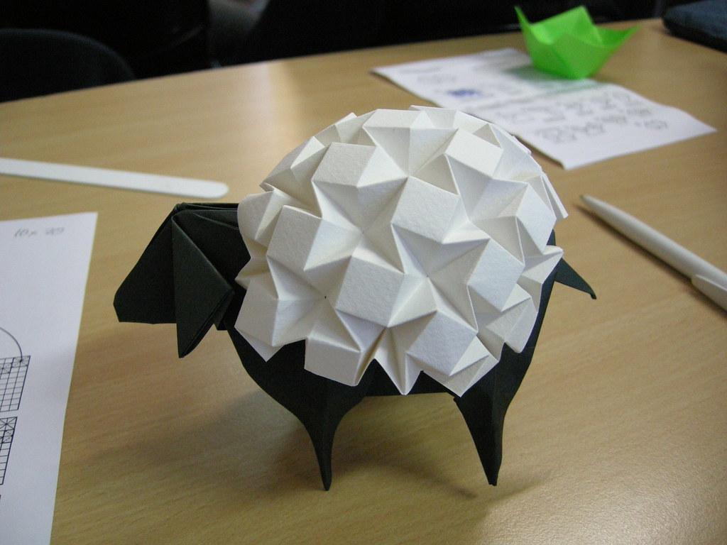 mouton origami tutorial
