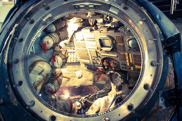 Nave espacial Soyuz (Сою́з) | Habitáculo