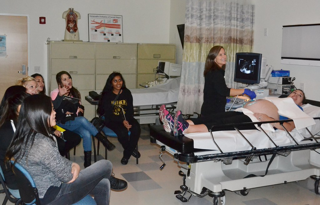 High School Students Visit Cod For Teachers Ultrasound 20 Flickr