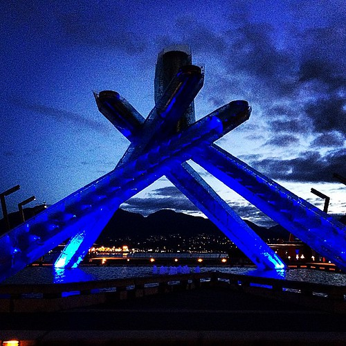 Olympic Torch #VancouverBC | by eddiecoyote