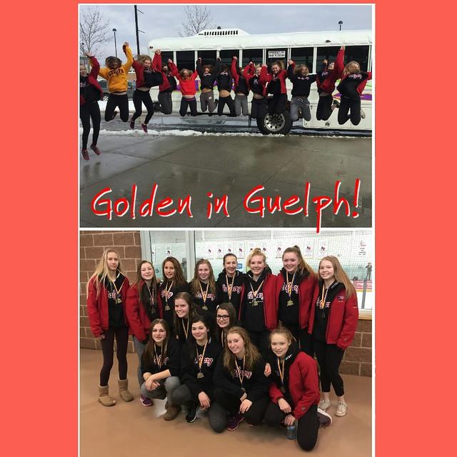Feb 12, 2017 - Guelph, ON - U16AA Impact wins Gold