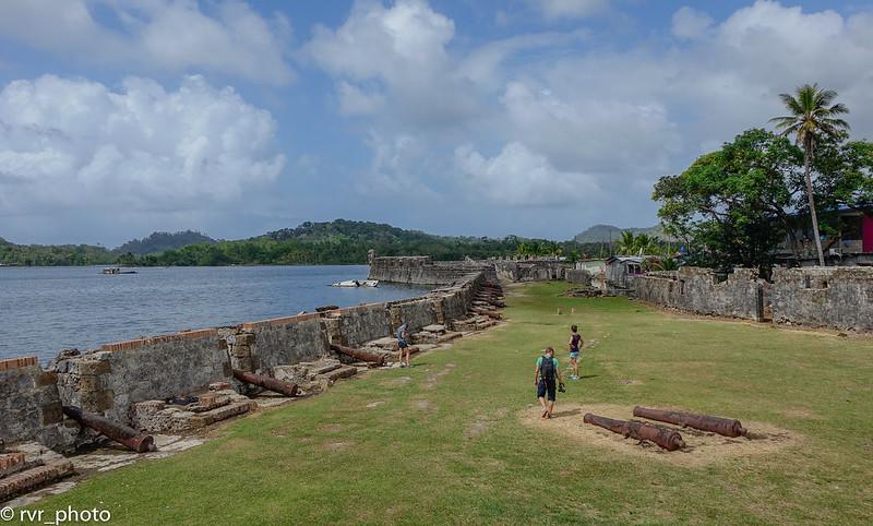 Fuerte de San Jeronimo en Portobelo, Panamá